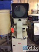 Micro Vu Spectra optical comparator, bench top type, with Micro-Vu Q16, 3 axis DRO.