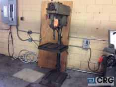 Clausing floor type drill press, model number 2276, serial number 523180, 150 to 2000 RPMs 150 to