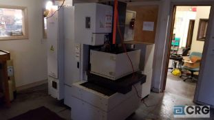 Brother HS- 70Am EDM machine, 2006, serial 111464, 220 volt, 3 phase, with Brother CNC interface