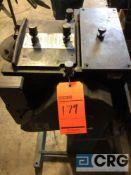 Rapid Aire coil unwinder/feeder model SBX8PB, serial 124664.