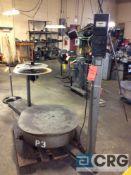 Coilmate Presspal roll unwinder, serial 2116, 3500 lb capacity, 120 volt, 3 phase.