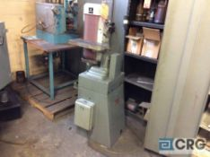 Lot includes 3 assorted machines, 2 assorted 6 inch double end pedestal grinders, and one Rockwell 6