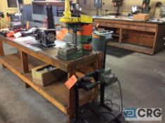 Lot includes Sears/Craftsman 1 by 40 inch vertical belt sander, bench type, one High Speed Hammer Co