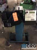 Rapid Aire coil unwinder/ feeder, model SBX4, serial 124174.