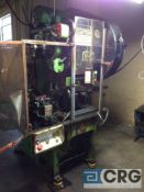 Bliss press, 35 ton cap, model CH-35, air clutch, 1 1/2 inch stroke, Peterson roll feed.