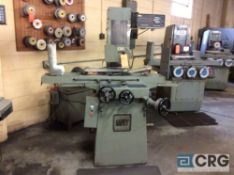 MHT surface grinder, model MSG 205MH, serial 87102749, with Walker Ceramax 6 by 18 inch magnetic