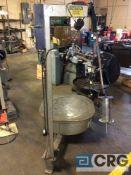 Coilmate Presspal, roll unwinder,serial 2250, 3500 lb capacity, 120 volt, 3 phase.