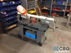 Wilton vertical/ horizontal, portable metal band saw, 7 by 12 inch, model 3410, serial 070915514,