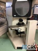 MicroVu Spectra optical comparator, 14 inch, with Micro-Vu Q16, 3 axis DRO.