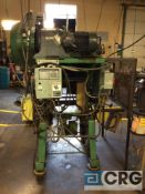 V and O, 35 ton straight side press, serial 35ST-57, 100-300 speed, 13/4 inch stroke, air clutch,