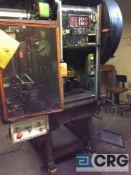 Bliss press, 35 ton cap, model CH-35, air clutch, 1 1/2 inch stroke, HELM load guard digital