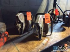 Lot of (2) Makita 14 inch gas powered cut off saws(LOCATED INDUSTRIAL COURT INSIDE)