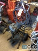 Graco walk behind paint sprayer(LOCATED INDUSTRIAL COURT INSIDE)