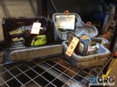 Lot of (2) asst Poulan and Ryobi 16 inch gas powered chain saws(LOCATED INDUSTRIAL COURT INSIDE)