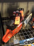 Lot of (2) asst gas powered chain saws(LOCATED INDUSTRIAL COURT INSIDE)