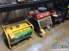 Lot of (3) asst generators(LOCATED INDUSTRIAL COURT INSIDE)