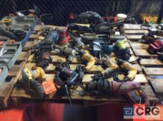 Lot of electric hand tools including portable bandsaw, (2) sawzalls, (2) sanders, and asst drills (
