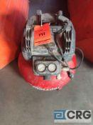 Porter Cable pancake compressor, 150 psa, 2.6 scfm, 1 phase(LOCATED INDUSTRIAL COURT INSIDE)