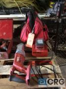 Hilti cordless sawzall mn WSR-18A with charger and bag(LOCATED INDUSTRIAL COURT INSIDE)