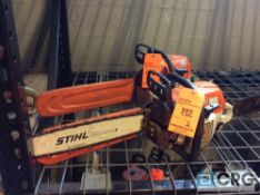 Lot of (2) Stihl 16 inch gas powered chain saws(LOCATED INDUSTRIAL COURT INSIDE)