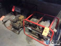 Lot of (3) asst gas powered pumps(LOCATED INDUSTRIAL COURT INSIDE)