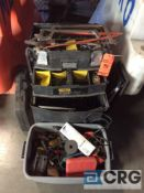 Lot of asst small handtools with case(LOCATED INDUSTRIAL COURT INSIDE)