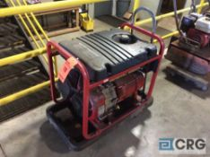 Generac 5500XL portable generator, with 11 hp motor(LOCATED INDUSTRIAL COURT INSIDE)