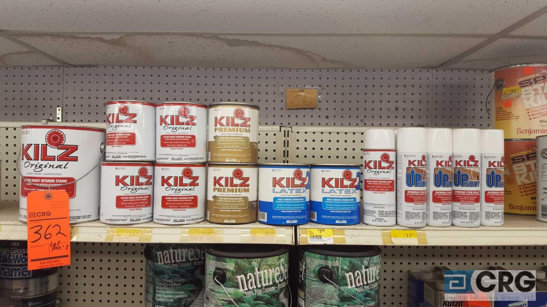 Lot of assorted KILZ primer and sealer