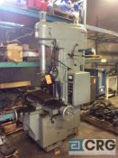 Moore 3 jig borer, 11 in x 24 in table, 2500 max spindle speed, s/n B926