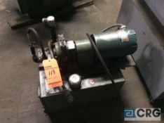 Double A T-10P, circuit center hydraulic unit