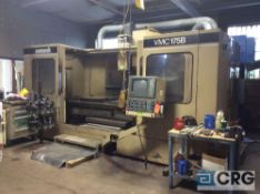 MonarchVMC 175B CNC vertical milling machine, CAT-50 tooling, 30 in x 84 in table, coolant thru