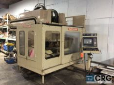 "Matsuura MC-800V-DC CNC milling machine, twin spindle, 18"" x 36"" table, twin 50 position ATC's,"