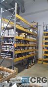 Lot of (2) assorted sections pallet rack, 10 ft. x 42 in. x 12 ft. H, with (4) uprights, (40) beams.