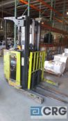 Clark electric narrow isle forklift, model NP 300-30, serial number NP 246-0200-PM 6295,'capacity