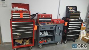 Lot of assorted tools etc. with (3) tool boxes