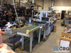 Hunkeler Sprinter folding machine, type SPR-BM 7140, serial number 647043