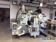 "Grafisk Maskinfabrik DC330-Mini E digital label finishing machine, 2- 12"" web width, 2-8"" put"