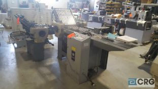 Baum 2020 folder with 90° roll in attachment,
