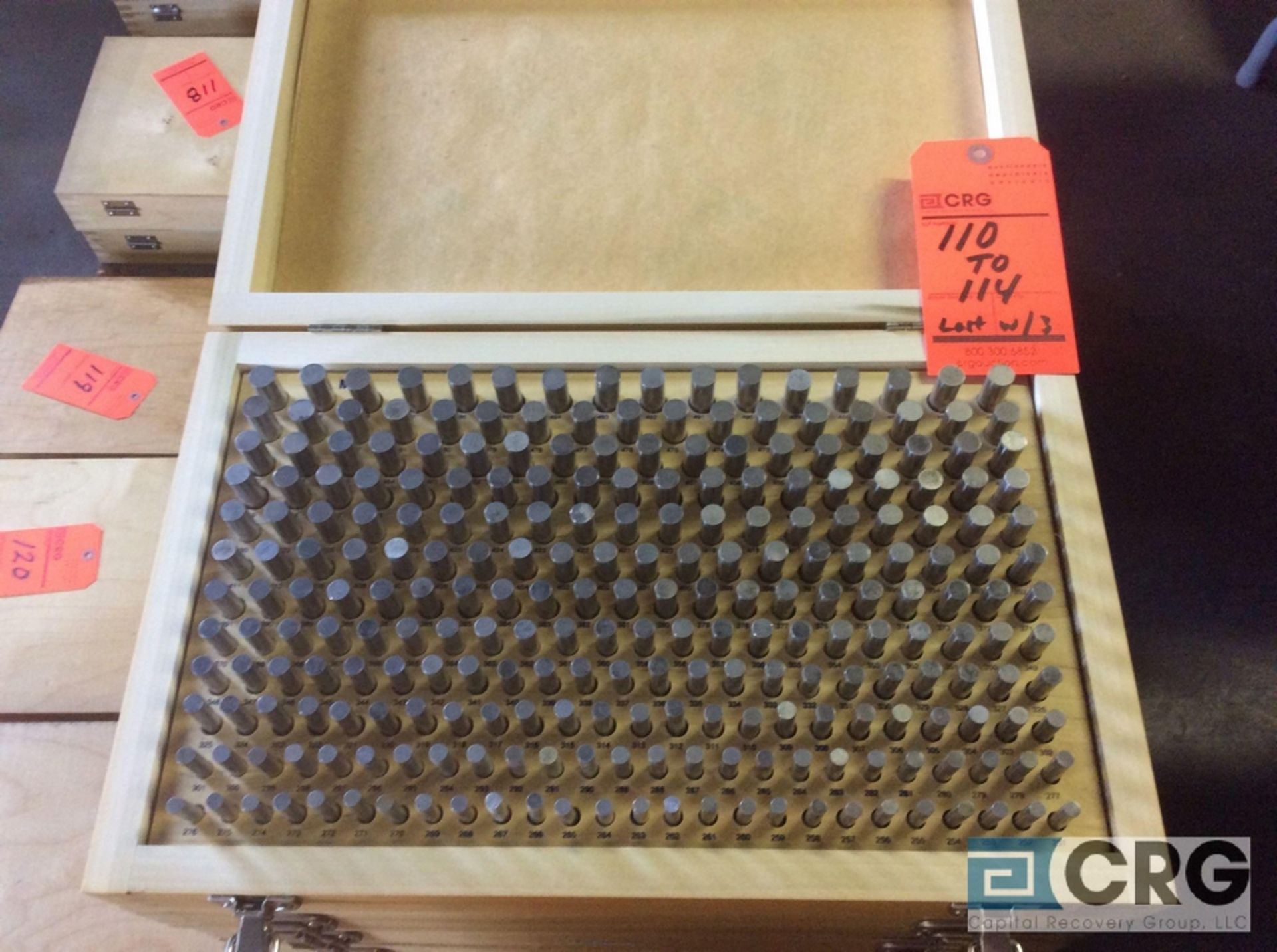 Lot 110 - Lot of (2) Pin Gage Plus .0251 - .500 sets