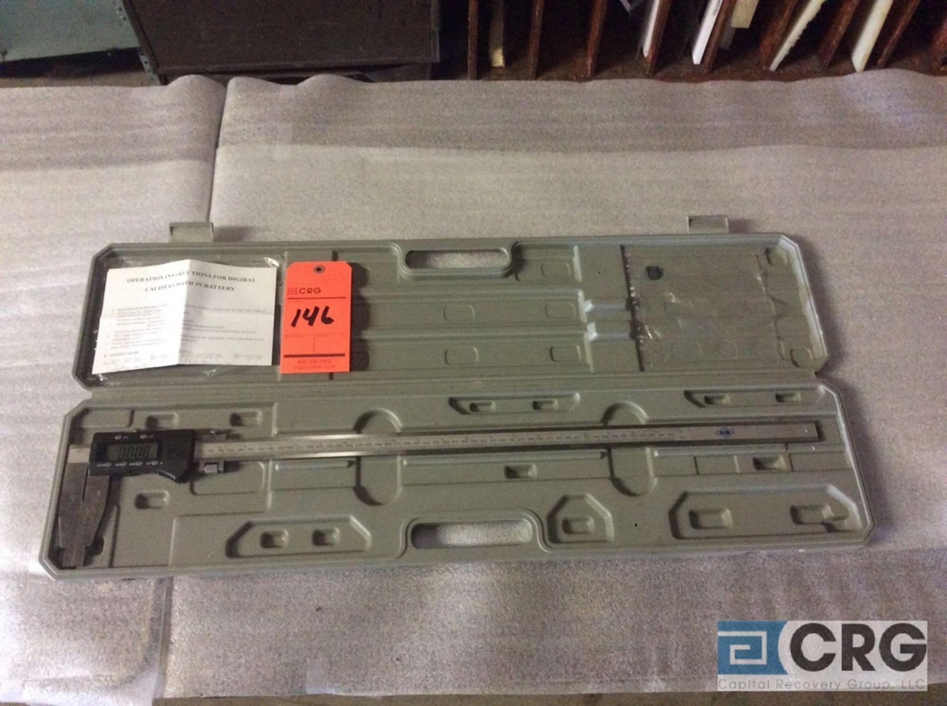 """Lot 146 - 22"""" digital caliper with case"""