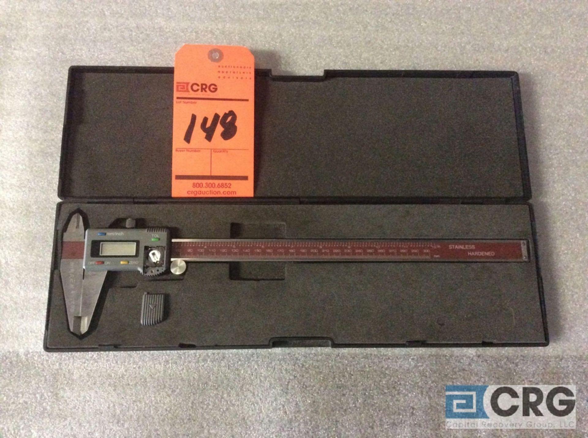 """Lot 148 - 12"""" digital caliper with case"""