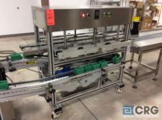 NEW 2018 Chasing FTA-216 clamp bottle machine, push button controls, stainless steel construction,