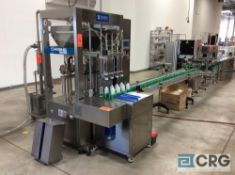 NEW 2018 Automatic liquid filling line, (ALL 220 VOLT SINGLE PHASE) subject to piecemeal bids lots
