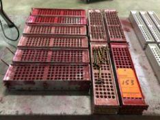 Lot of (10) lipstick molds, .477 teardrop