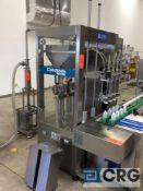 NEW 2018 Shanghai Chengxing/Chasing GHVA04-030VA 4-Head liquid filling machine, Siemens Simatic