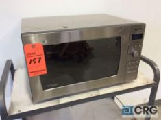 Panasonic commercial stainless steel microwave