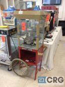 18 inch portable,popcorn cart
