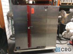 Carter Hoffmann portable stainless steel food warmer, 180 plate capacity
