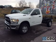 2019 Ram 3500 HEAVY DUTY HEMI 6.4 liter cab and chassis, gas engine, 4X4, towing/haul package,