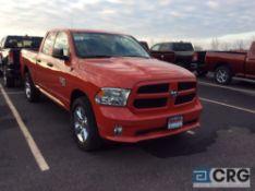 2019 Ram 1500 Classic, PU truck, 4WD, auto transmission, power windows, locks, side mirrors, blue
